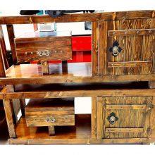 میز تلوزیون چوب روس